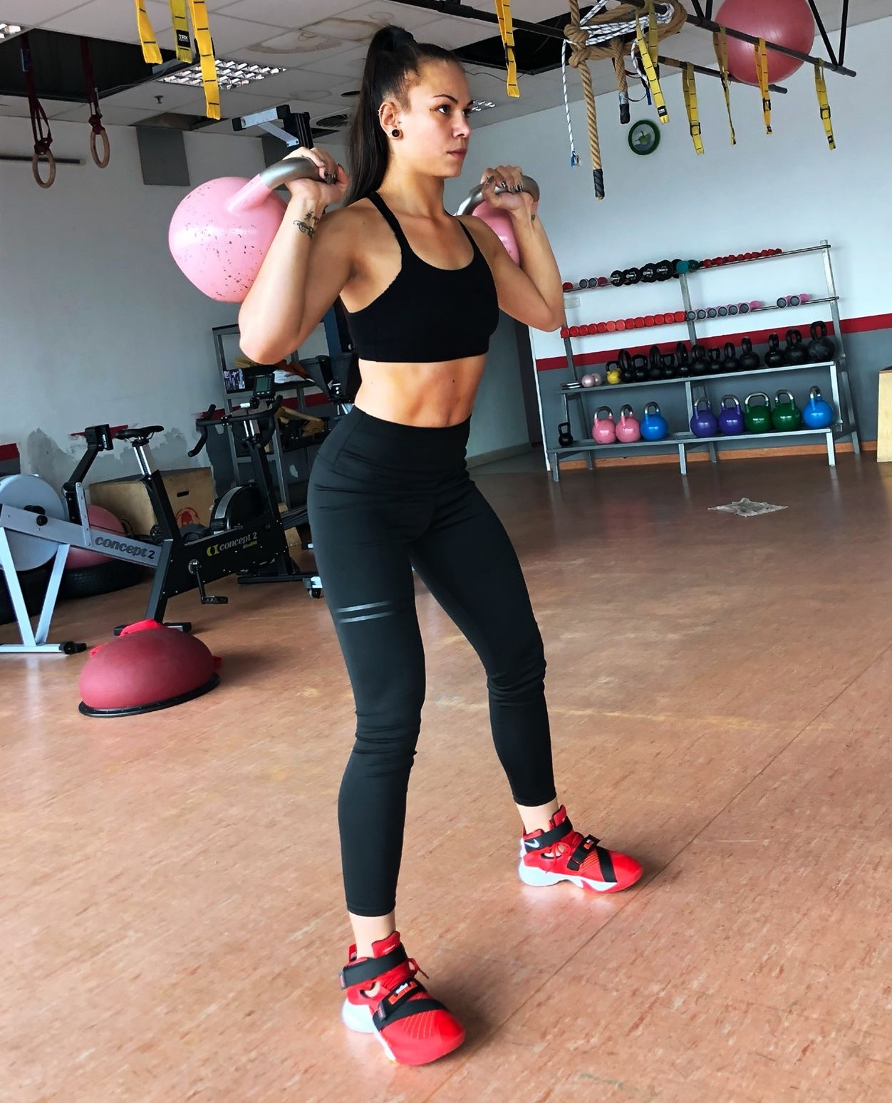 Abs and booty training for women